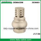 Marcação ce de Qualidade Certificada Brass Válvula Inferior (AV-CV-5006)