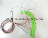 2X32 PLC Singlemode Fiber Optic Splitter met Sc Connector