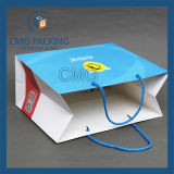 Bolsa de papel de negocios con laminado mate (CMG de mayo-043)