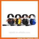 対面ラジオのための適用範囲が広いブームマイクロフォンによって取り消す頑丈なヘッドセットの騒音