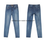 Alta qualidade Encantadora Comfortable Slim Denim Straight Ladies Jeans