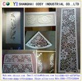 Folha livre do PVC da espuma branca Board/3mm 5mm do PVC para a impressão