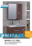 壁ハングさせた簡単な浴室用キャビネットの陶磁器の洗面器の浴室の虚栄心