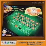 Machine électronique de roulette de casino d'écran tactile de carte de 8 joueurs