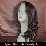 Brevi parrucche del Bob per la parrucca della parte anteriore del merletto dell'onda del corpo delle donne di colore con la linea sottile naturale