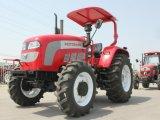 80HP 90HP het wielTractor van het Landbouwbedrijf met Ce & OESO