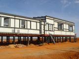 Vorfabriziertes Stahlkonstruktion-bewegliches Installationssatz-Haus (KXD-104)
