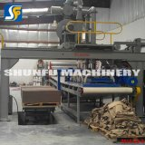 Petit papier de rebut de fournisseur chinois réutilisant le prix de machines de production de plaque à papier de papier cartonné