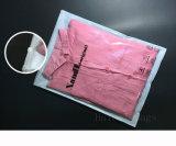 Прозрачный CPP Non-Woven мешок для упаковки одежды, застежкой на молнию упаковочный мешок