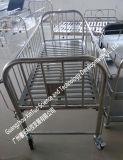 Base de bebé médica de la choza de bebé del acero inoxidable del surtidor de los muebles del hospital