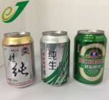 L'impression de la bière en aluminium de couleur personnalisés peuvent 330ml