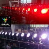 Miniträger-beweglicher Kopf 12X12W der Stadiums-Disco-RGBW LED UV