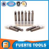 Le carbure de tungstène foret de 2 flûtes pour l'aluminium