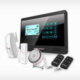 Sistema de Alarma de casa! Sistema de domótica con Ios/Android App controlar fácil descargar Google Play Store & cuatribanda GSM con 007m2E.