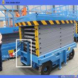 das 4m Cer ISO-hydraulisches bewegliches Handbuch Scissor Aufzug-Plattform