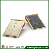Sostenedor de encargo de la visualización del collar del terciopelo del nuevo diseño