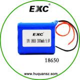 pacchetto della batteria ricaricabile della batteria 3.7V 10.2ah dello Li-ione 18650