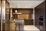 Module de cuisine à la maison lustré élevé de meubles du modèle 2017 neuf Yb1709256