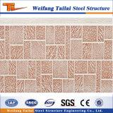 Панель металла Prefab дома материальная декоративная здания стальной структуры