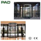 De koninklijke Draaiende Deuren van het Glas van de Luxe (3-vleugel) voor Hotel