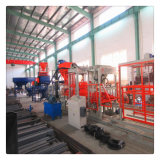 Автоматическое управление с помощью ПЛК оборудования для изготовления бетонных блоков с Siemens