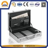 Aluminiumfall mit Griff-Silber-Geschäfts-Handtaschen (HL-3005)