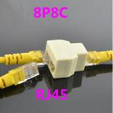 Fabricant 8p8c répartiteur de réseau RJ45 du connecteur du câble réseau