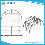 fardo da iluminação do fardo do estágio do telhado do arco da Metade-Moom do alumínio de 34X34X26FT