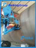 Máquina durable de la limpieza del tiro de la pared externa del tubo de acero