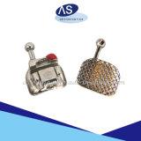 El uno mismo ortodóntico Liagting del metal acorcheta la fabricación del OEM con el Ce FDA ISO13485