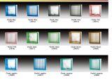 Блок ясного прозрачного цвета стеклянный