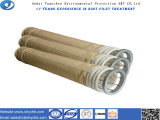 Cárter del filtro no tejido de bolso de filtro de Aramid para la eliminación del polvo con la muestra libre