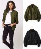 Vente en gros de mode Aviation Flight Life Spring and Autumn Woman Collar Jacket