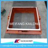 Ligne de moulage de cadre de sable de qualité moule utilisé pour le matériel de fonderie