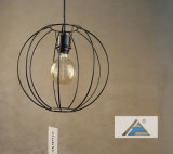 Iluminação do pendente do frame do metal do vintage do globo (C5006142)
