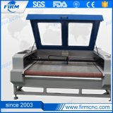 Высокоскоростной дешевый гравировальный станок вырезывания лазера ткани цены