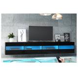 Placa de rayos UV de alto brillo LED de Puerta de la unidad de soporte de TV muebles