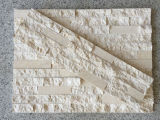 壁の装飾のための熱いベージュ大理石の外部のFieldstone