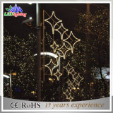 경이로운 축제 크리스마스 거리 정원 훈장 LED 떨어지는 끈 빛