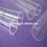 高い純度の平底のゆとりの水晶ガラスの袖