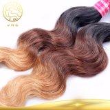Aaaaaaaの100%年のバージン中国ボディ波のヨーロッパの人間の毛髪の拡張