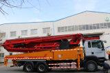 Sobre camión de cemento de hormigón Bomba de la pluma a la venta de camiones