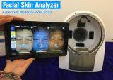 El analizador de escáner de la piel de madera Equipos de salón Lámpara de mesa