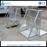 Faltender Sperren-materieller üblicher Aluminiumtyp Sperren-Sport-Sperre
