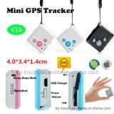 V16 Mini appareil de localisation GPS avec bouton SOS