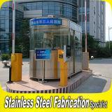 Quiosco portable modificado para requisitos particulares de la seguridad del acero inoxidable