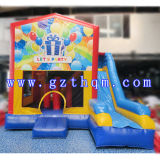 Enfants Gonflable Bounce House Jumping Castle / Inflatable Bouncy Castle with Slide