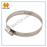 12.7mm Bandwidth 미국 Type Stainless Steel Pipe Clamp