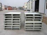 Los depósitos de palets de acero/Conjunto de paletas metálicas apilables Puerta Palete