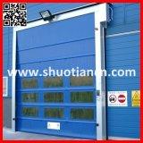 Дверь завальцовки быстрой двери PVC штарки нутряной автоматической высокоскоростная (ST-001)